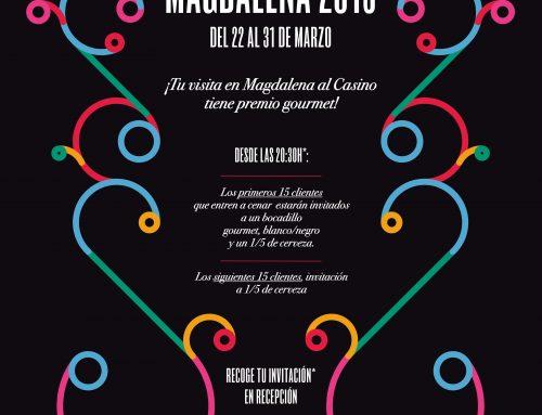 La Magdalena 2019 llega al Gran Casino Castellón
