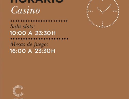 Fin del estado de alarma con horario nuevo en Orenes Gran Casino Castellón