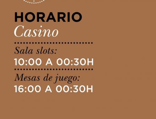 Nuevo horario de cierre para Orenes Gran Casino Castellón