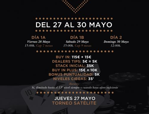 Torneo Poker We Are Back 2º Chance